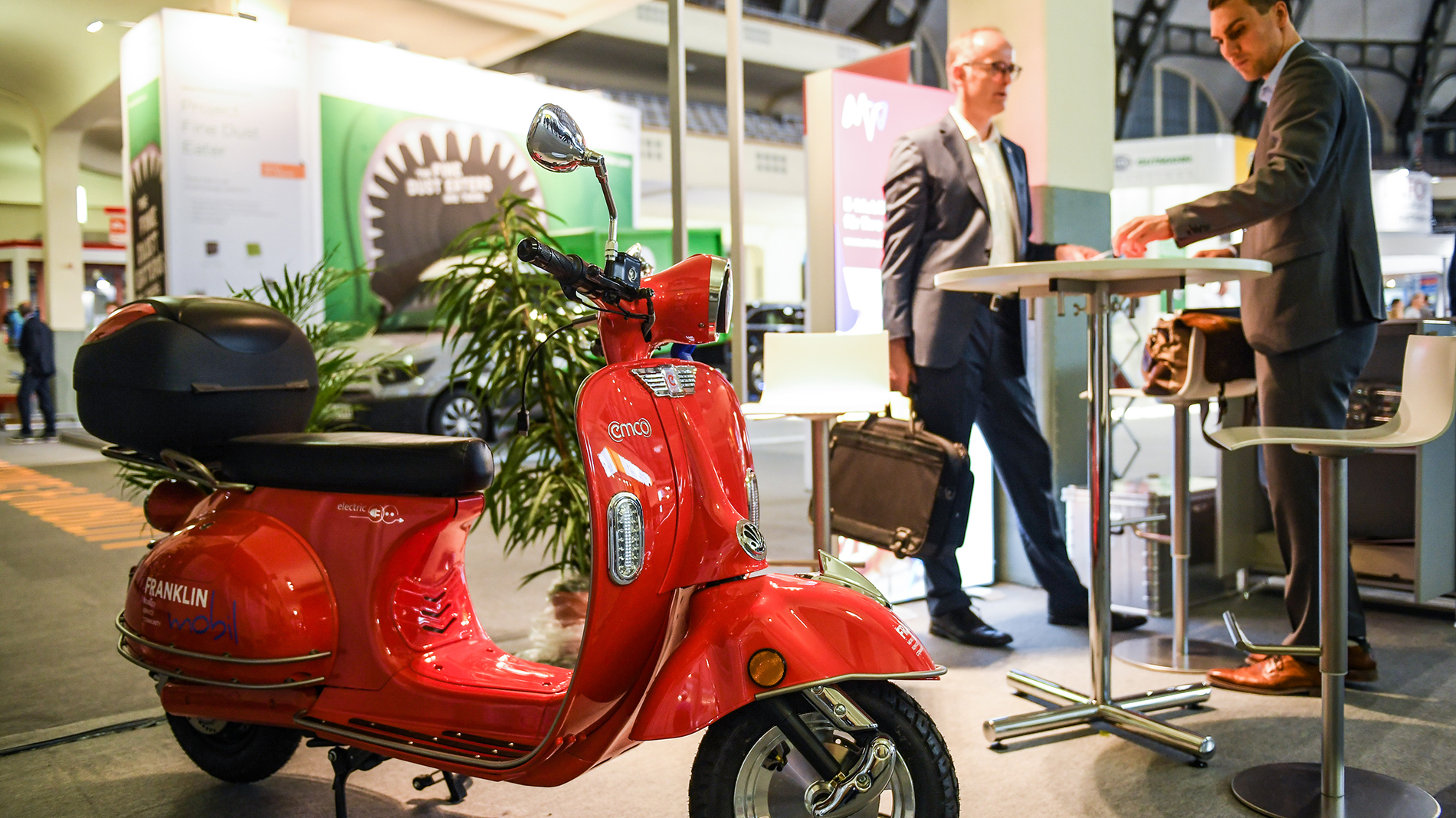 Scooter at Automechanika
