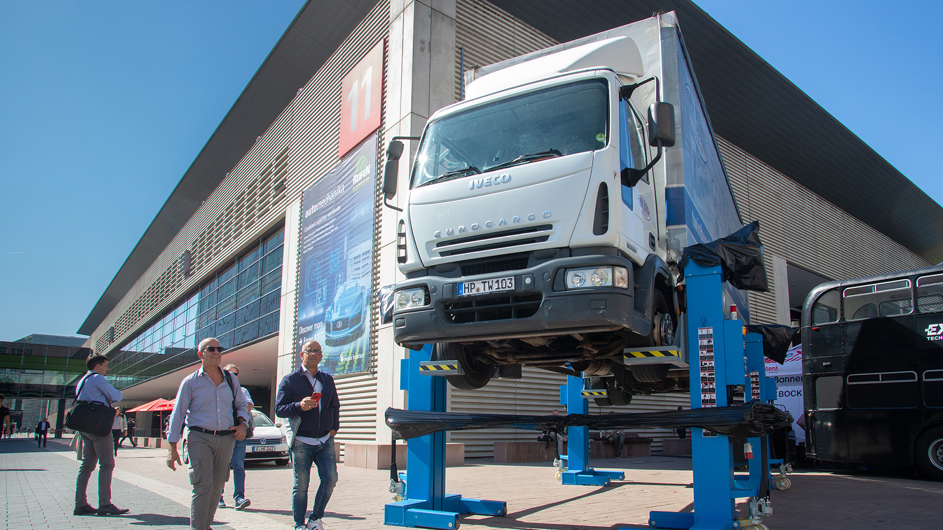 Truck at Automechanika
