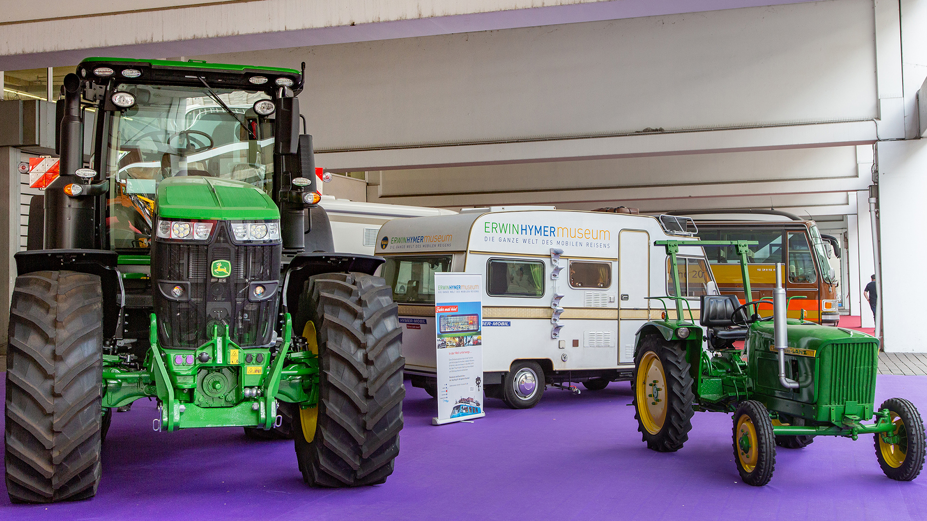 Tractors at Automechanika