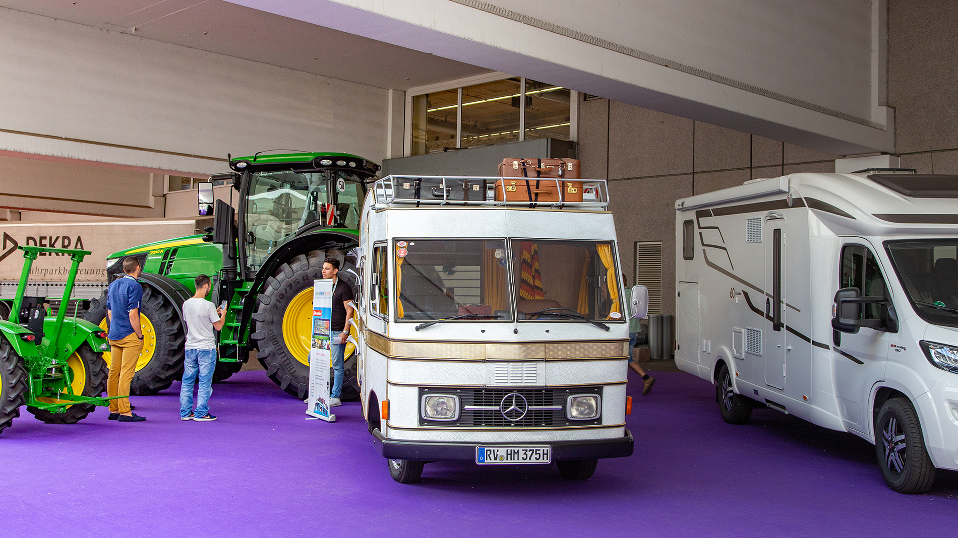 Caravans at Automechanika