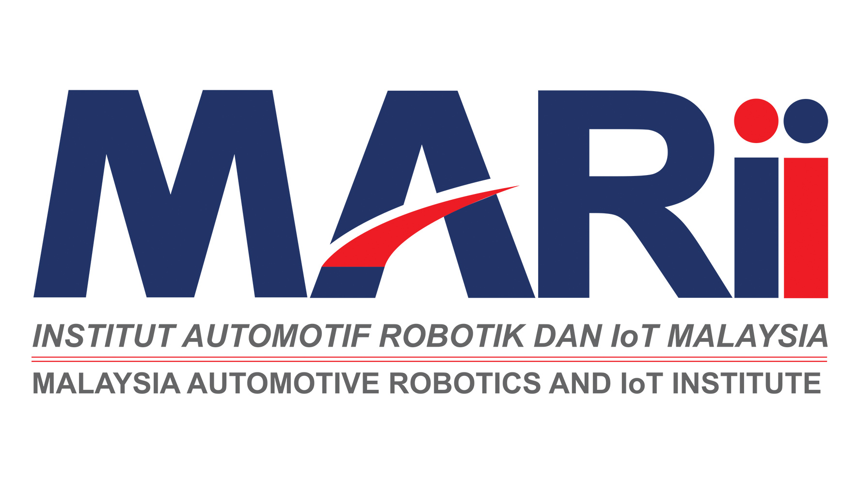 MARii (Malaysia Automotive Robotics & IoT Institute) Logo